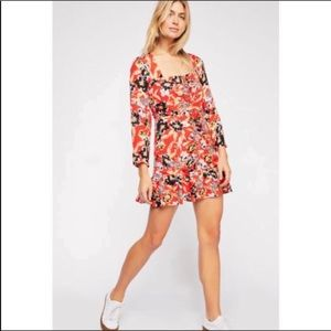 Free People | Forever Printed Mini Dress